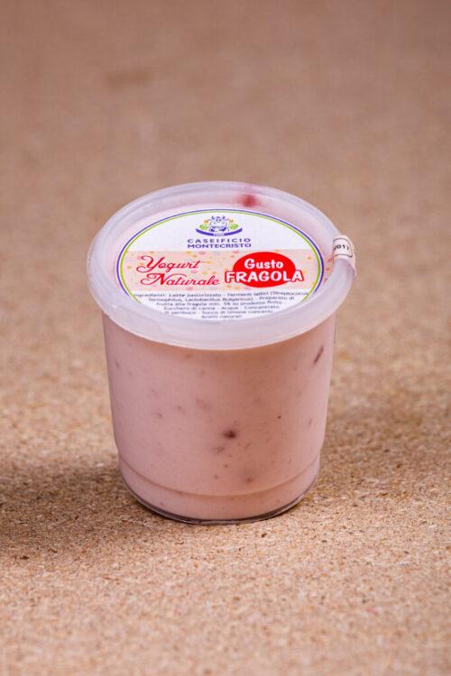 Yogurt Naturale alla fragola - Senza lattosio