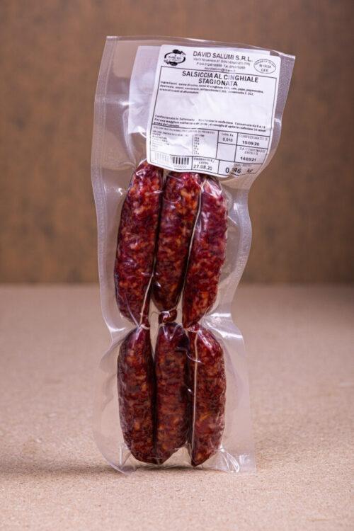 Salsiccia Cinghiale Stagionata
