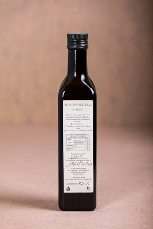 Olio Extravergine di Oliva - 0,5L