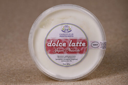 Yogurt dolce latte