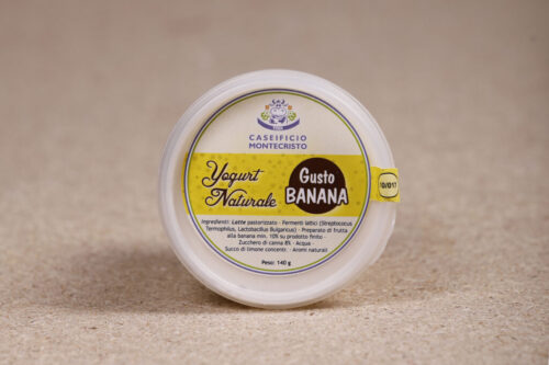 Yogurt naturale alla banana - Senza Lattosio