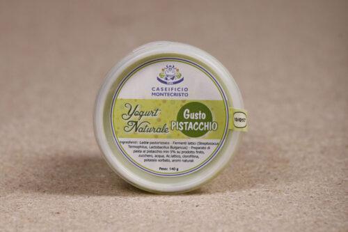 Yogurt naturale al pistacchio - Senza Lattosio